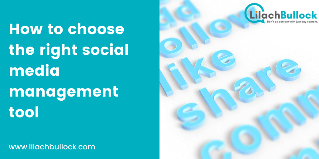 How to choose the right social media management tool