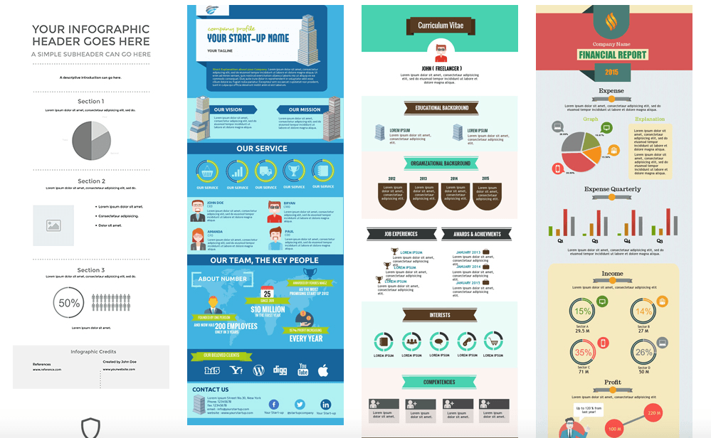 5 tools to design beautiful infographics