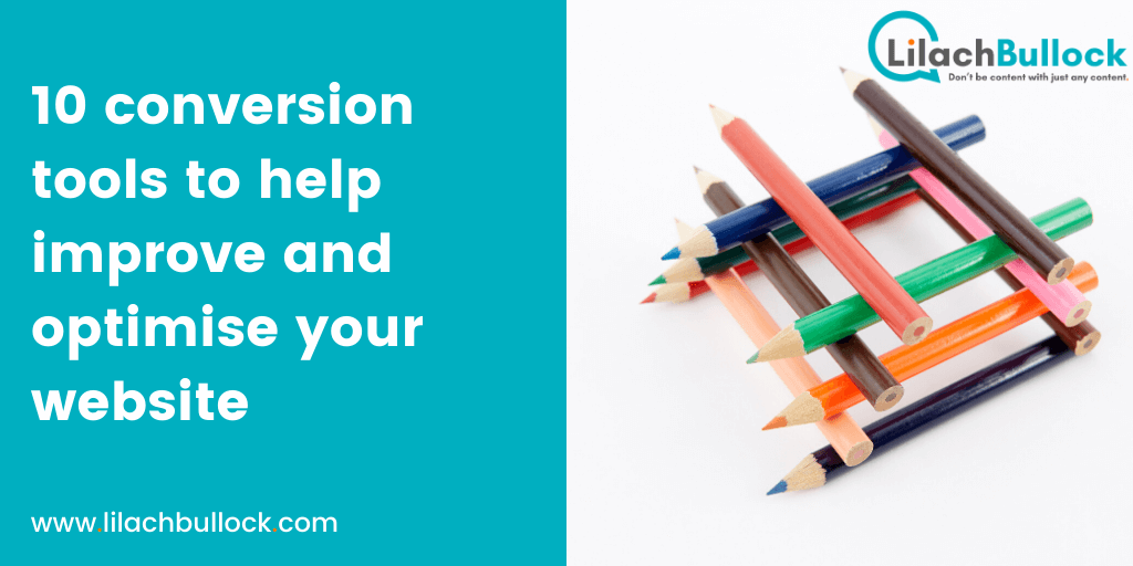 10 conversion tools to help improve and optimise your website