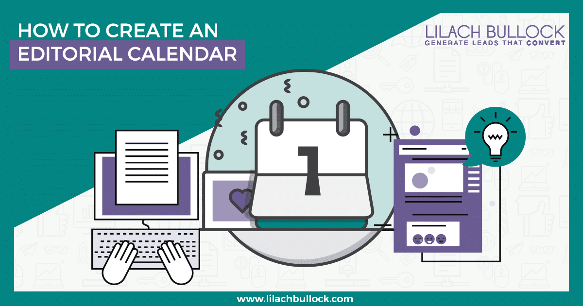 Editorial Calendar Design : How to create an editorial calendar free template