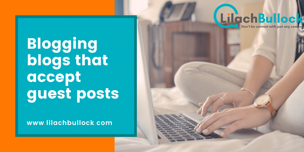 Blogging blogs that accept guest posts