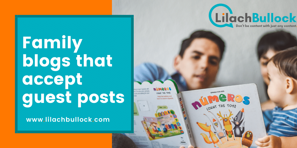 Family blogs that accept guest posts