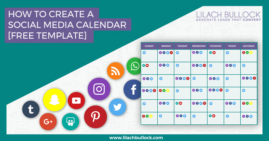 How To Create A Social Media Calendar + Template