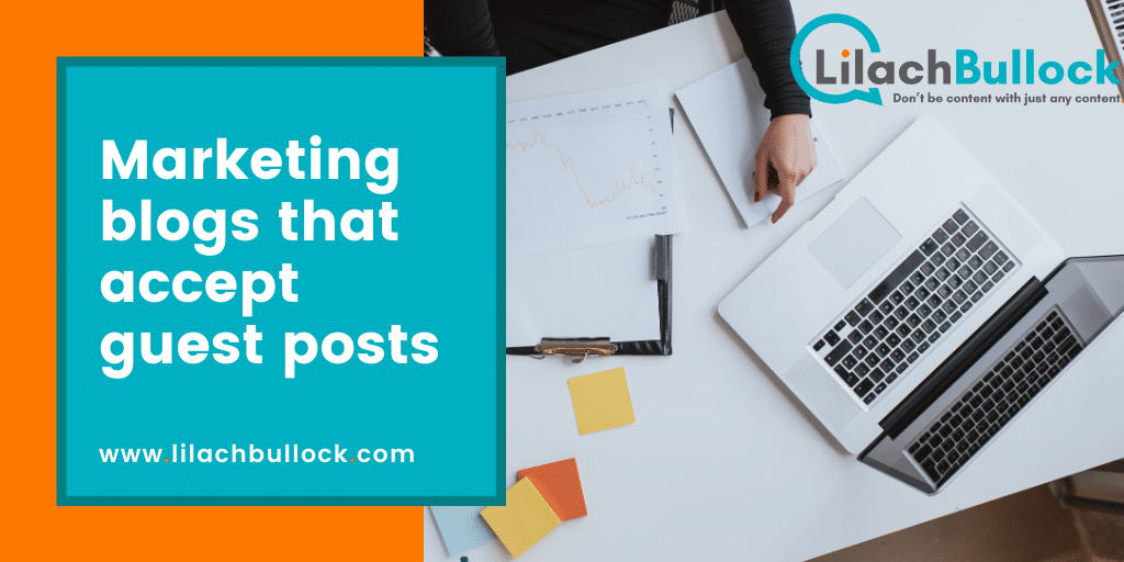 Marketing blogs that accept guest posts