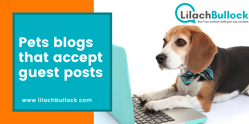 Pets blogs that accept guest posts