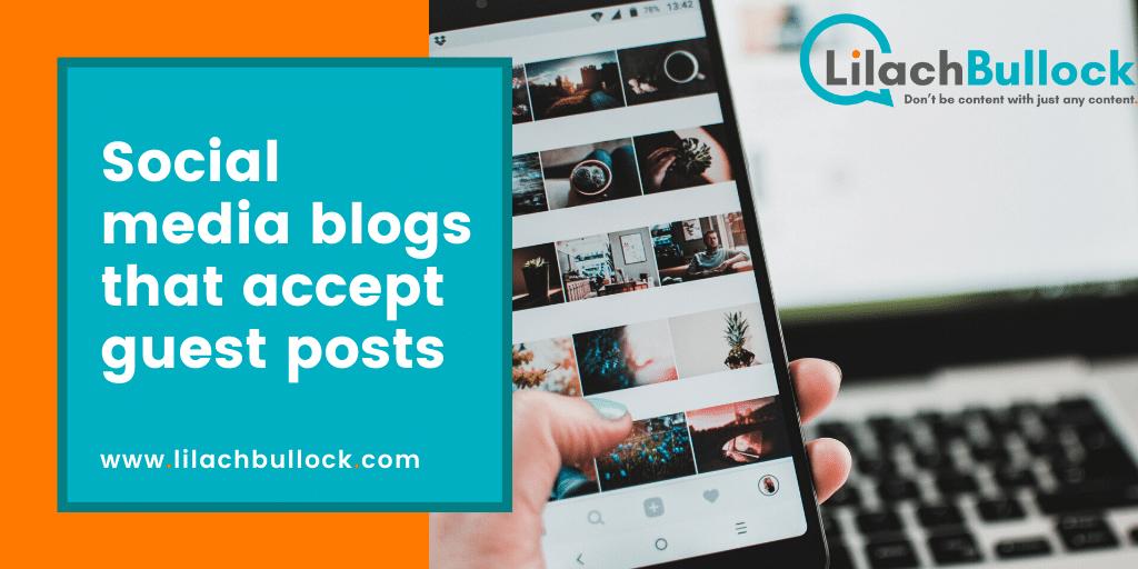 Social media blogs that accept guest posts
