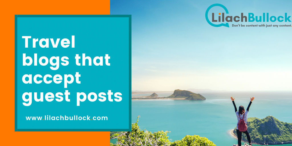 Travel blogs that accept guest posts