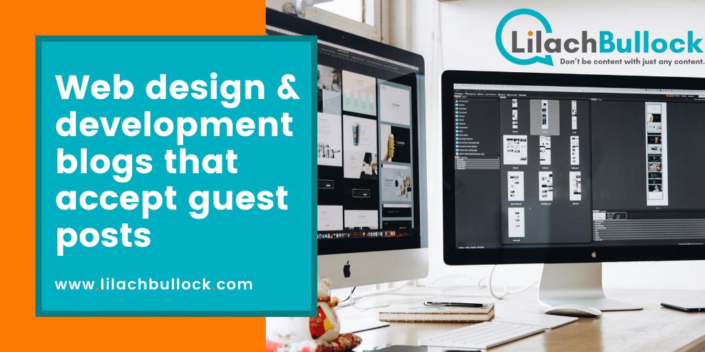 Web design & development blogs that accept guest posts