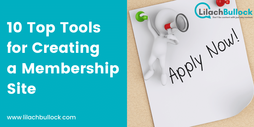 10 Top Tools for Creating a Membership Site