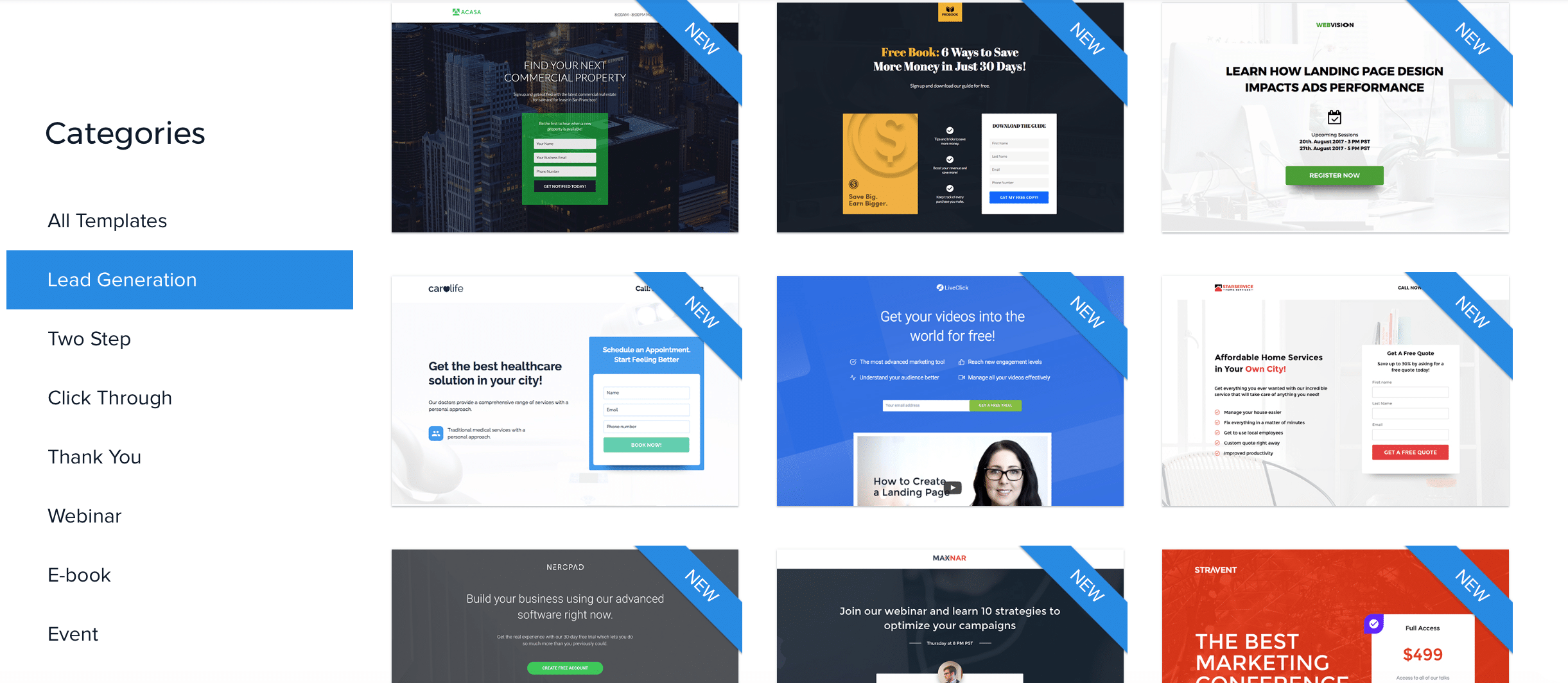 10 of the best landing page builders for marketers