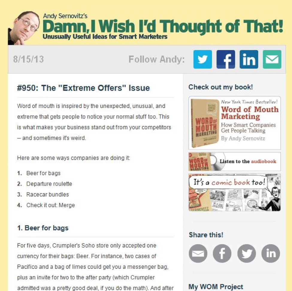 10 Newsletters That Work and What You Can Learn From Them