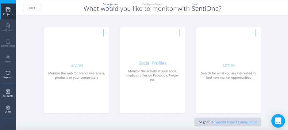 The easy way to monitor your brand name online with Sentione