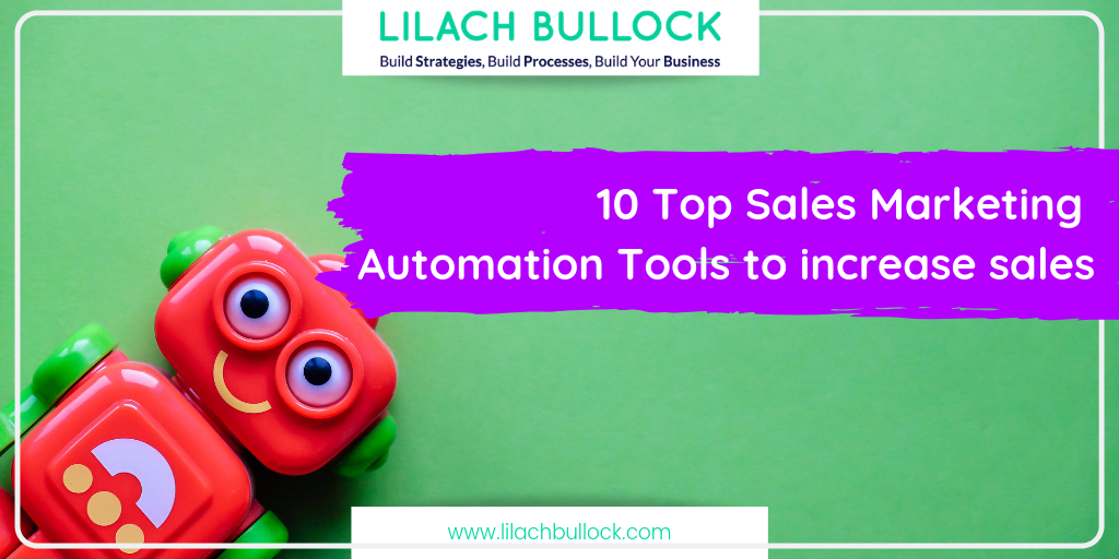 10 Top Sales Marketing Automation Tools to increase sales