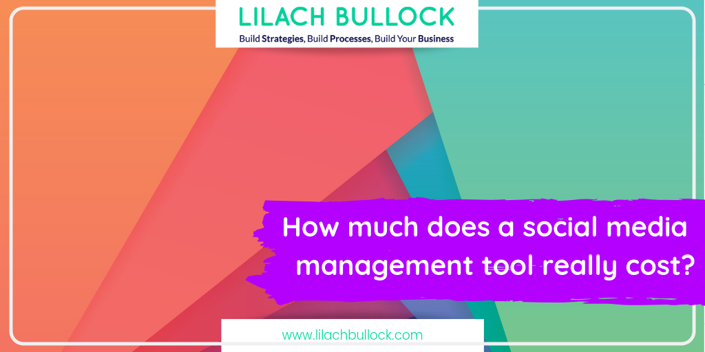 How much does a social media management tool really cost?