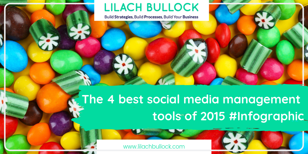 The 4 best social media management tools of 2015 #Infographic