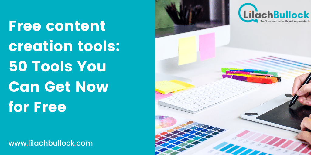 50 Free content creation tools