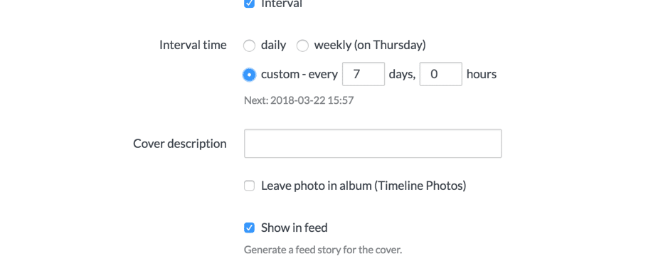 How to schedule your social media posts and cover photos