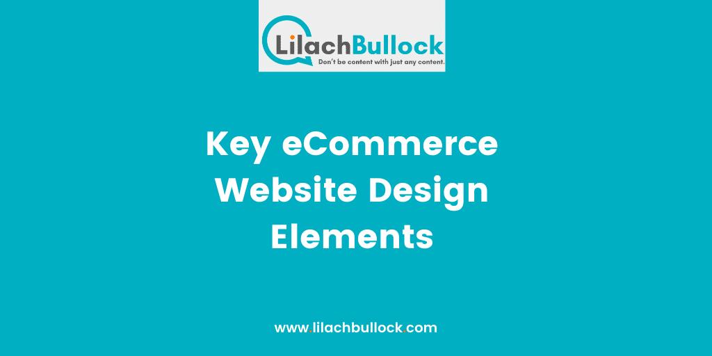 Key eCommerce Website Design Elements