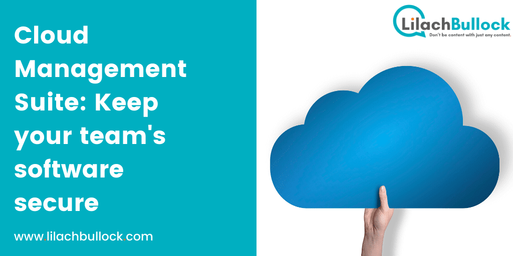 Cloud Management Suite Keep your team's software secure