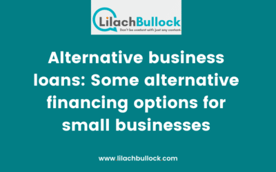 Alternative business loans: Some alternative financing options for small businesses