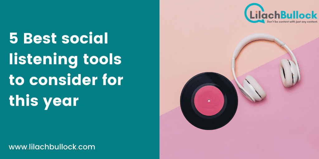 5 Best social listening tools to consider for this year