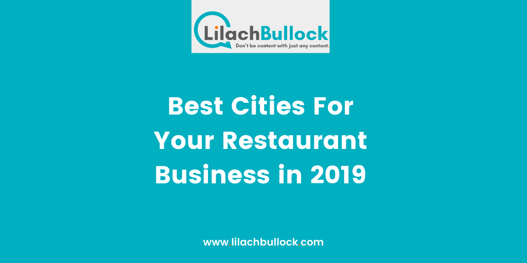 Best Cities For Your Restaurant Business in 2019