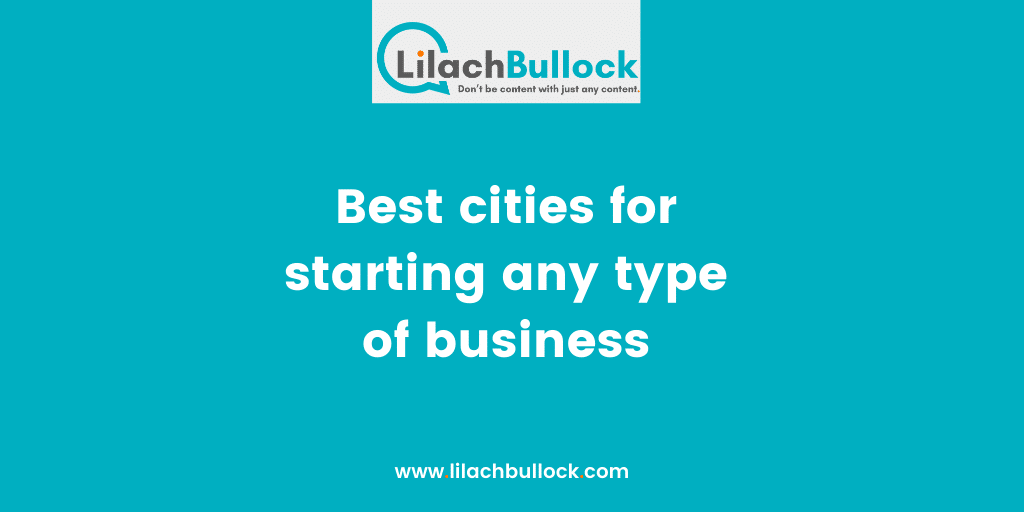 Best cities for starting any type of business