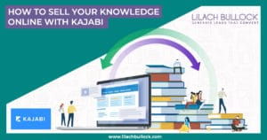 How to sell your knowledge online with Kajabi