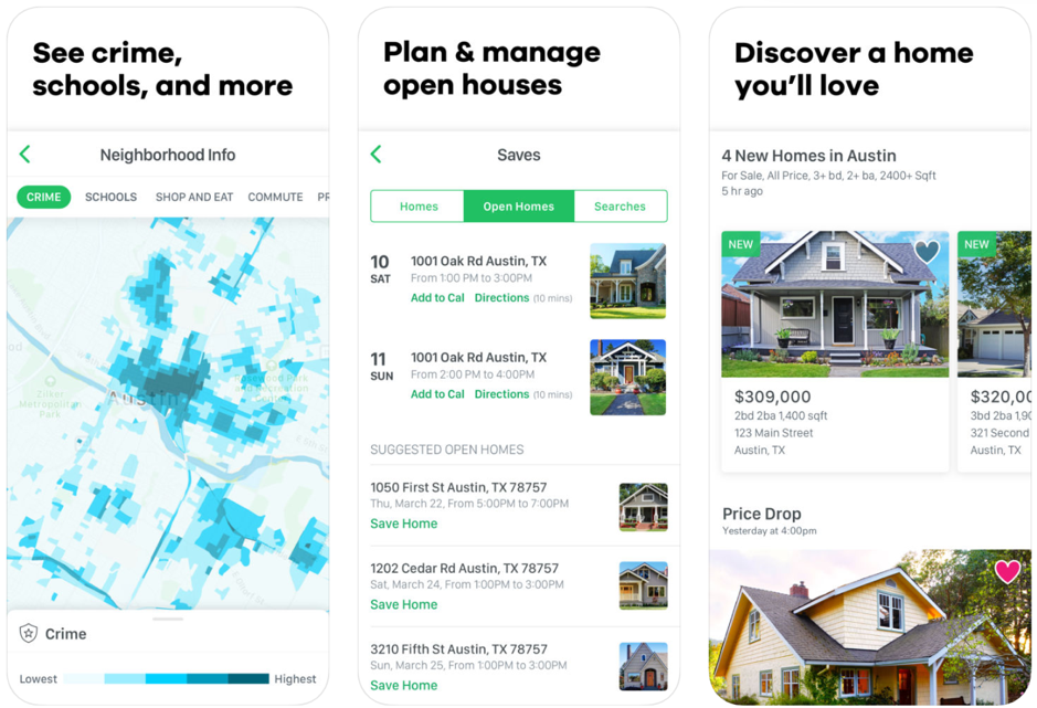 10 Top Real Estate App UI Design - LilachBullock