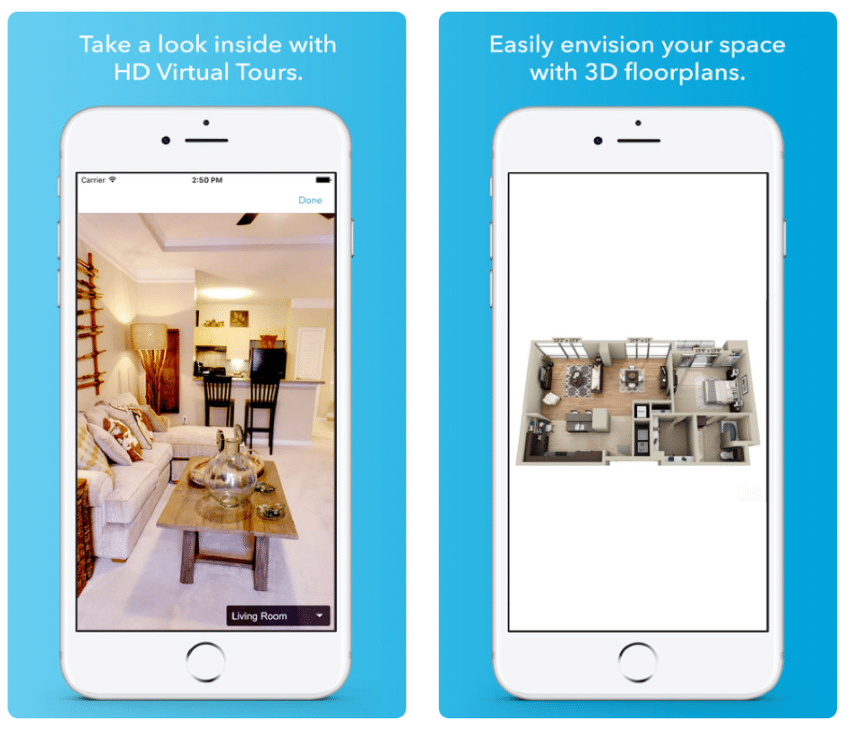 Rent Com App: 10 Top Real Estate App UI Design To Get Inspired For Your