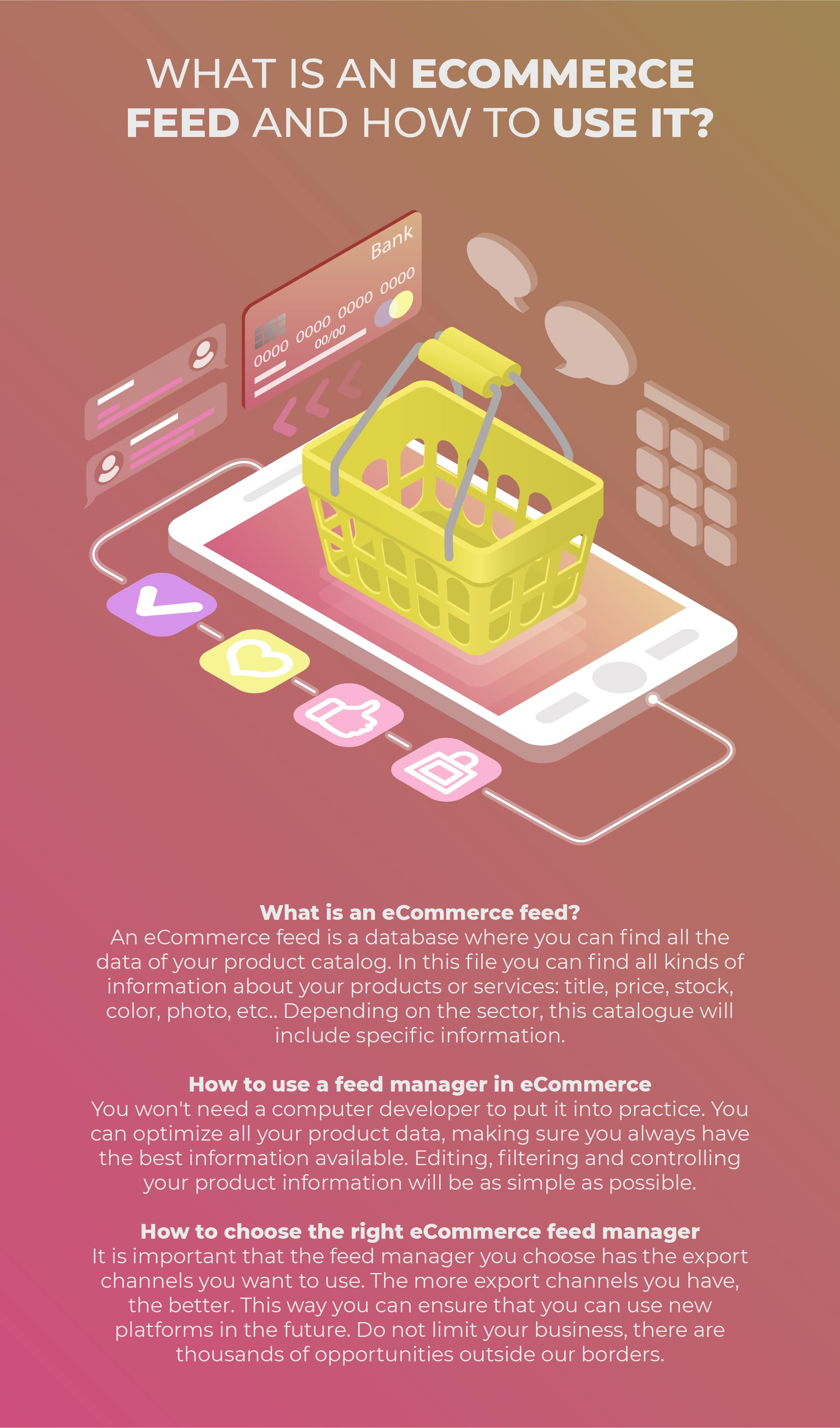 what is ecommerce feed