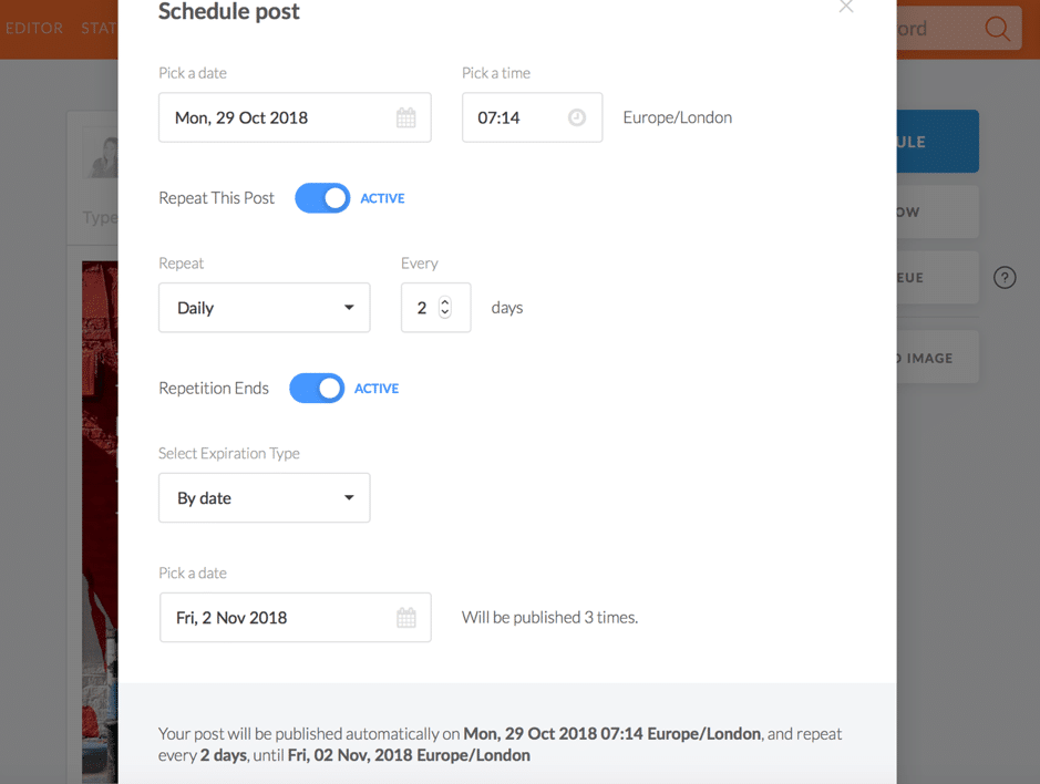 How to build a busy and engaging social media calendar