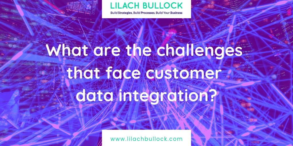 What are the challenges that face customer data integration?
