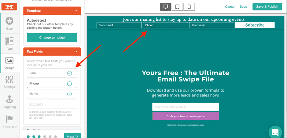 The easiest way to convert your website visitors into customers