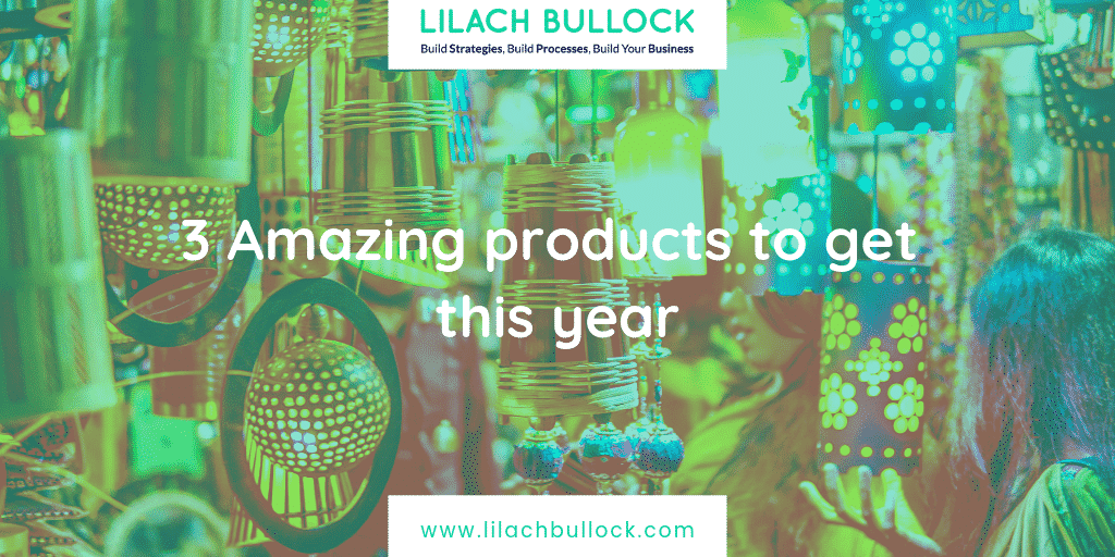 3 Amazing products to get this year