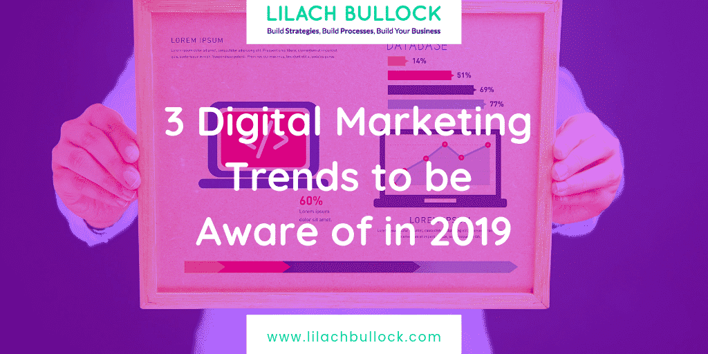 3 Digital Marketing Trends to be Aware of in 2019
