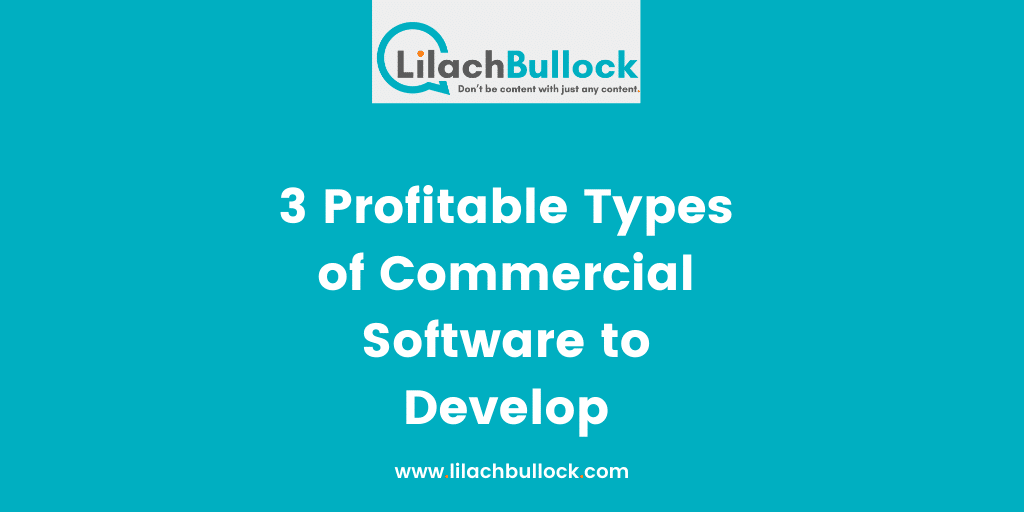 3 Profitable Types of Commercial Software to Develop