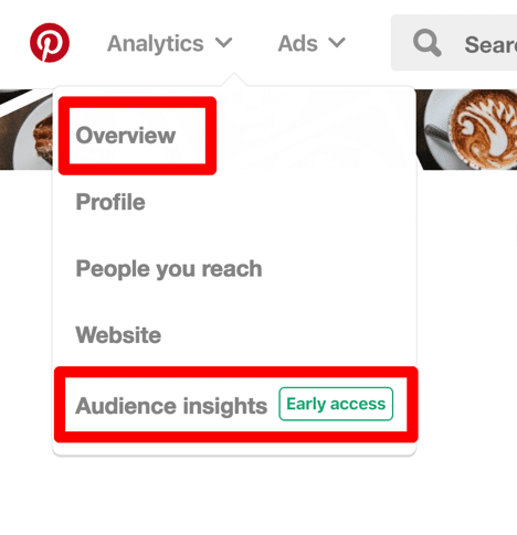 pinterest analytics screenshot example