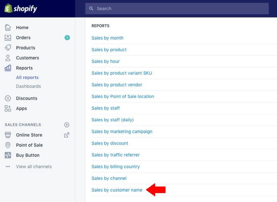shopify ecommerce screenshot