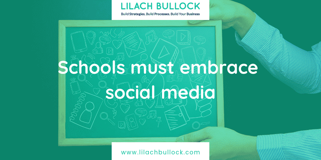 Schools must embrace social media