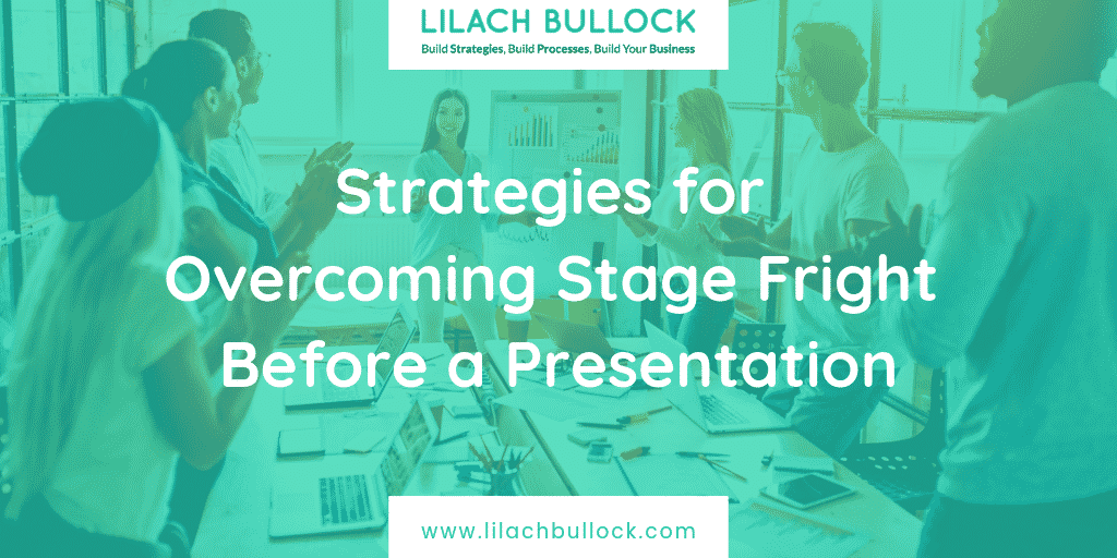 Strategies for Overcoming Stage Fright Before a Presentation
