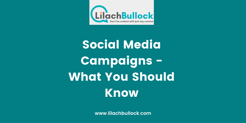 Social Media Campaigns - What You Should Know
