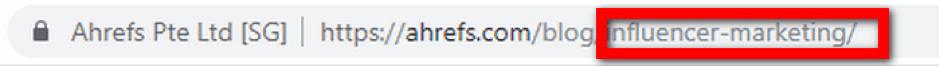 URL tips seo