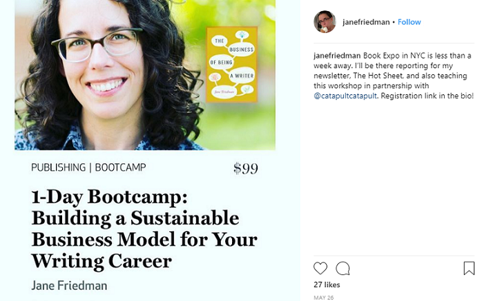 How to Market Your Writing Services On Instagram