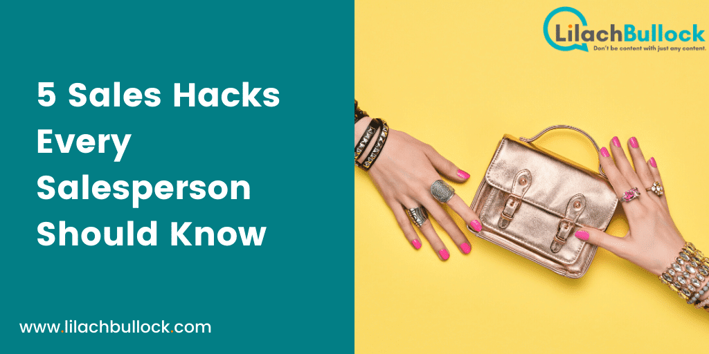 5 Sales Hacks Every Salesperson Should Know-min