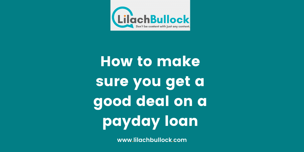 tips to get a cash lending product quick