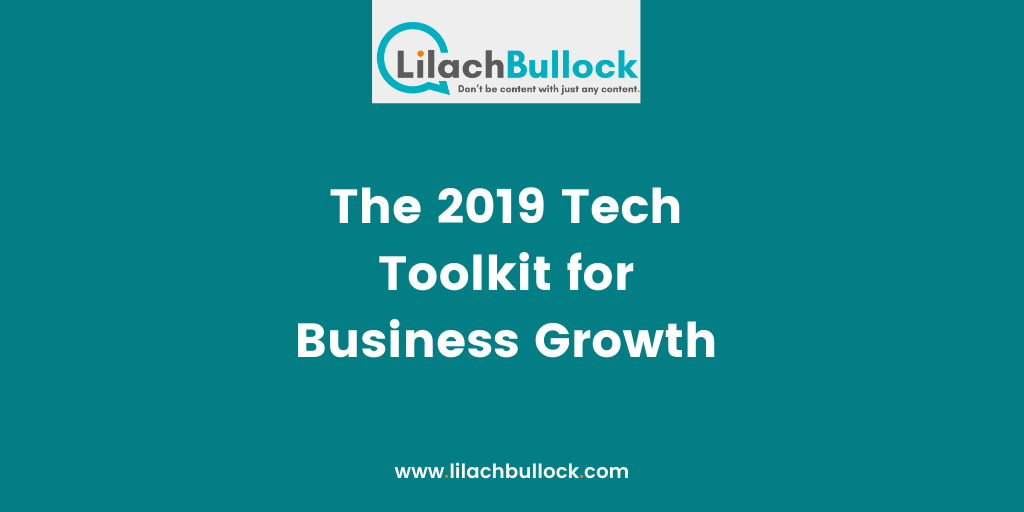 The 2019 Tech Toolkit for Business Growth