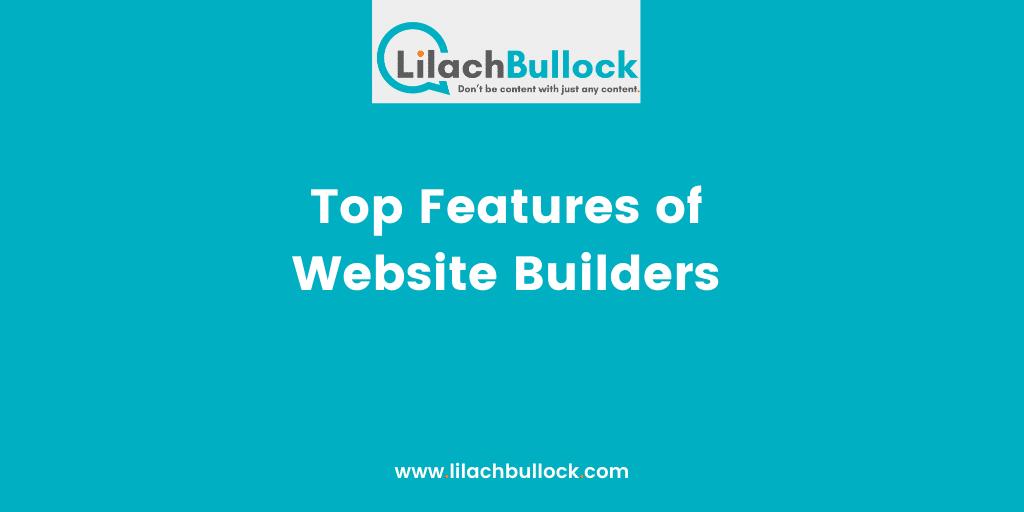 Top Features of Website Builders