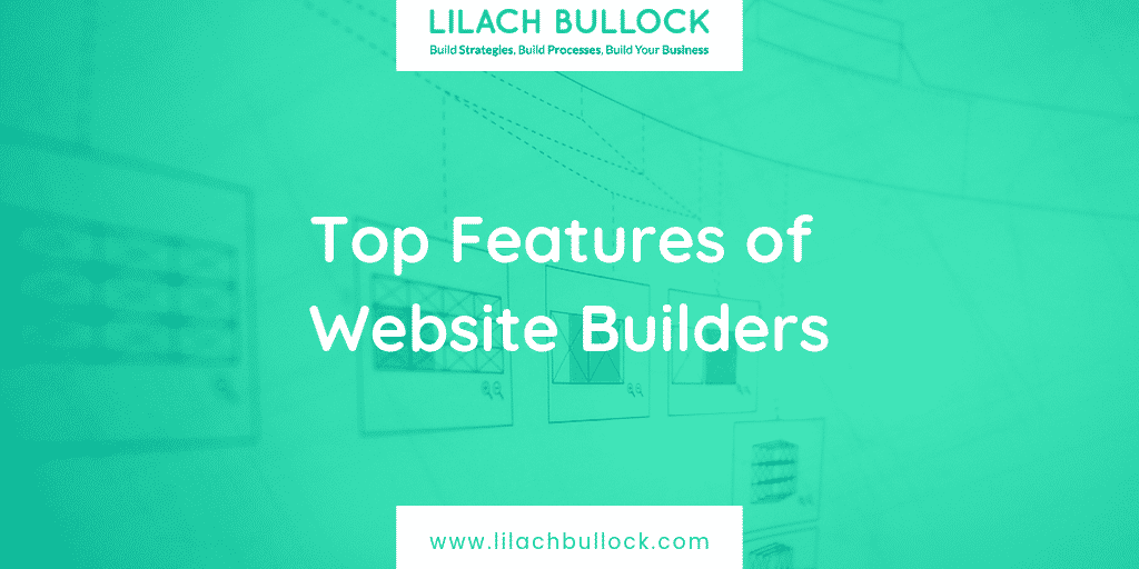 Top Features of Website Builders
