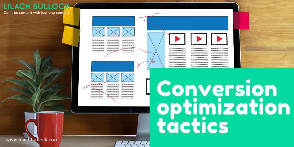 conversion optimization lead generation tactics